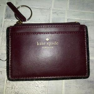KATE SPADE card & coin pouch